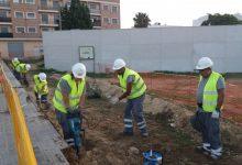 S'inicien les obres per a la construcció d'una nova aula-taller al Centre de Formació Municipal Les Palmeres
