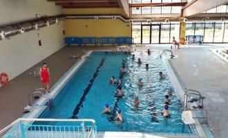 La piscina cubierta de Xirivella abre temporada con la apertura para el baño libre del vaso pequeño