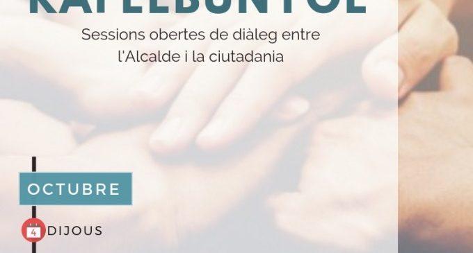 Rafelbunyol arranca octubre amb trobades de participació ciutadana