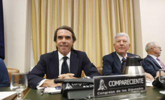 """Aznar defensa al Congrés que va actuar """"contundentment"""" davant la corrupció i que no ha de """"demanar perdó"""
