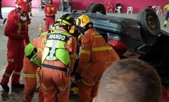 Els bombers de Gandia, campions d'Espanya en la XIV Trobada de rescats d'accident de trànsit
