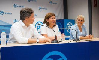 """Bonig anima a la gestora del PP de València a """"recuperar l'orgull de sentir-se valencià i espanyol"""""""