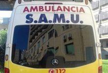 Dues persones resulten ferides en un accident de cotxe en l'avinguda Pío XII