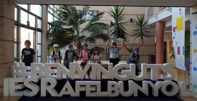 El Alumnado de Rafelbunyol se une al día europeo sin coches