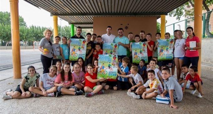 Mislata presenta el Dia de la Bici entre escolars