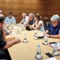 Fulgencio trasllada a Per l'Horta la disposició de Foment a veure les opcions de millora en les obres de V-21