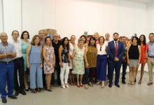 Inauguración de la Mostra Fusió del taller de pintura local de Rafelbunyol