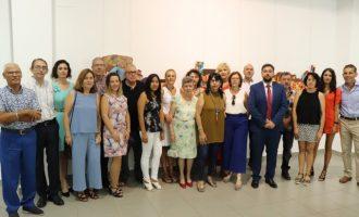 Inauguració de la Mostra Fusió del taller de pintura local de Rafelbunyol