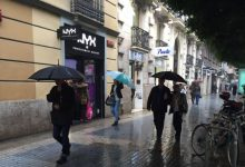 Tancats tots els parcs de València per la previsió de pluges i tempestes