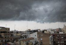 Lluvias fuertes y persistentes este lunes en la Comunitat Valenciana