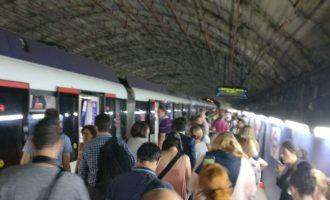 Nou atesos per crisi d'ansietat i tres d'intoxicació per l'explosió d'un portàtil en un vagó del Metro de Madrid