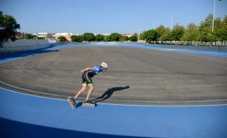 La nueva pista de patinaje de velocidad de Paiporta se estrena con dos clases magistrales abiertas al público