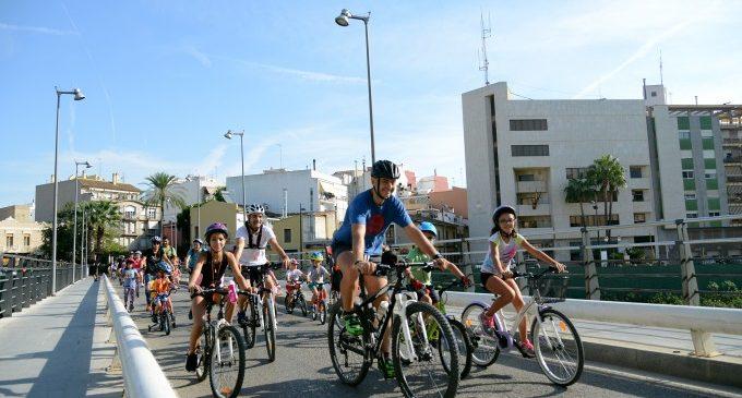 Paiporta s'adhereix per quart any a la Setmana Europea de la Mobilitat