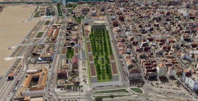 El Plan Especial del Cabanyal pretende atraer a nuevos habitantes con la creación de casi 1.000 viviendas de Protección Pública