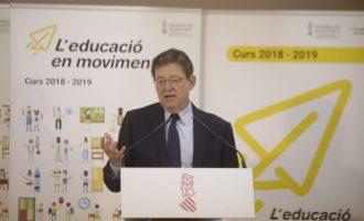 """Puig demana un """"esforç"""" per a aprovar els PGE i critica al PP per """"utilitzar el Senat per a fer la contrareforma"""""""