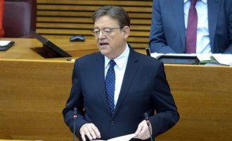 """Puig reitera la necessitat de comptar amb un finançament just i diu que """"no hi ha cap pas arrere"""" en eixa petició"""