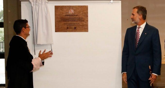 """El Rei inaugura el curs universitari: """"Tenim motius per a estar orgullosos de l'educació superior a Espanya"""""""