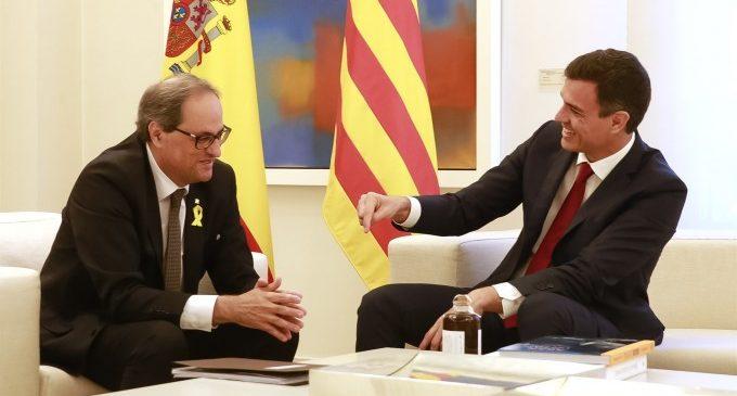 """Sánchez defensa un """"referèndum"""" per l'autogovern per a Catalunya"""