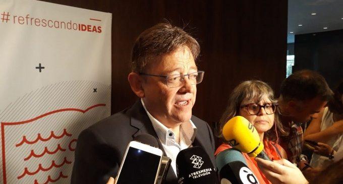 """Puig creu que el Botànic és hui un actiu """"més potent"""" que la """"singularitat"""" d'un avançament electoral"""