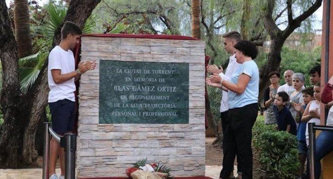 Torrent ret homenatge a Blas Gámez