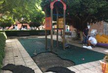S'inicia la renovació del parc de Mossén Cuenca – Marí Villamil de Pinedo