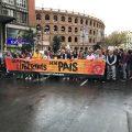 Calles cortadas por el 9 de Octubre en València