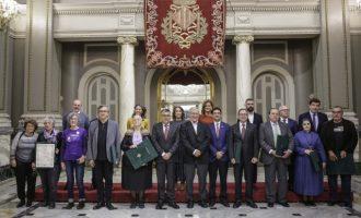 Ribó lliura els Honors i Distincions de la ciutat 2018