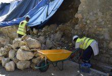 Iniciades les obres de reconstrucció del Pati de les Sitges