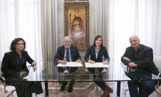 L'Ajuntament de Gandia i la Fundació Bancaja renoven el seu compromís per la Cultura