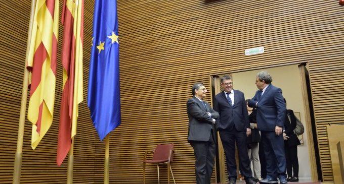Les Corts reben a presidències de parlaments de l'Antiga Corona d'Aragó per commemorar el 600 aniversari de la Generalitat