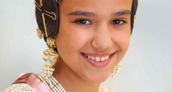 La Fallera Major Infantil, Sara Larrazábal, serà exaltada aquest dissabte