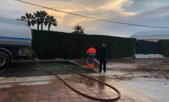 """Els equips de la Diputació de Castelló es mantenen actius per a """"retornar les carreteres a la normalitat"""""""
