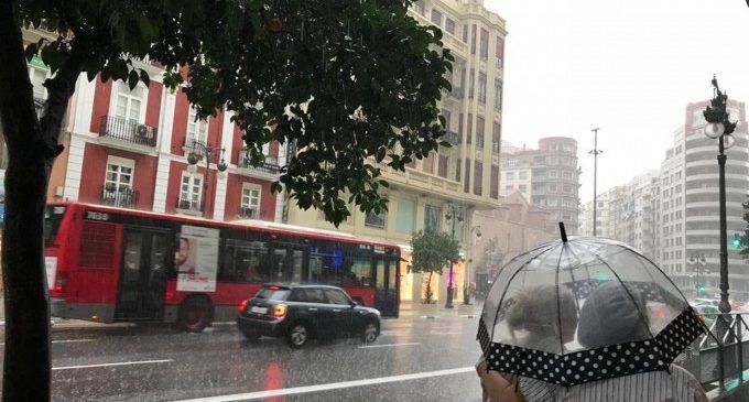 Fred polar i pluja, protagonistes a València per als pròxims dies