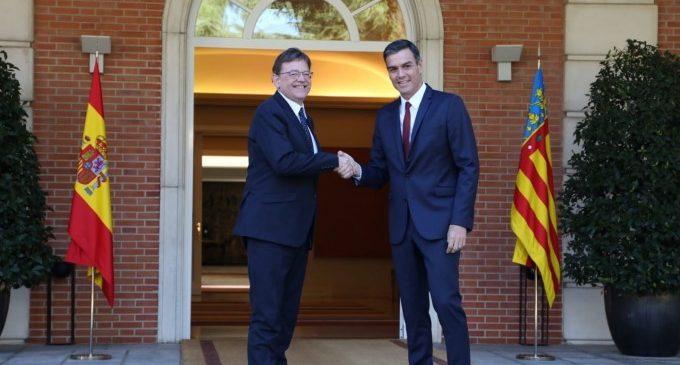 La primera comissió bilateral de la democràcia entre el Govern i la Generalitat Valenciana arribarà al gener