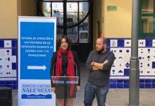 L'oficina d'atenció a les víctimes del franquisme, centre d'ajuda per a dignificar la memòria