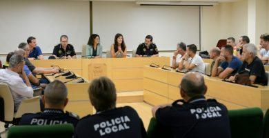Reunió de coordinació amb la plantilla de Policia Local de Paiporta