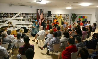 "Las historias vuelven a inundar las calles de Paiporta con la tercera edición de ""Paiporta, Món de contes"""