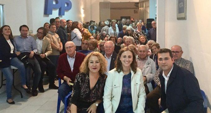 """El nou president de la gestora del PP obri la seu de Benetússer i agraeix el treball """"al peu del canó"""""""