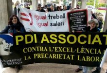 Els associats de la UPV tornen a convocar la vaga