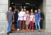 Sandra Gómez presenta 158 avals per a ser candidata del PSPV a l'Alcaldia en 2019