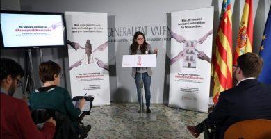 Oltra puja les ajudes per a víctimes de violència masclista de 200 a 2200 euros
