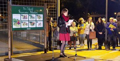 Aldaia se vuelca en el homenaje al maestro y poeta Francesc Aledón por su labor pedagógica innovadora