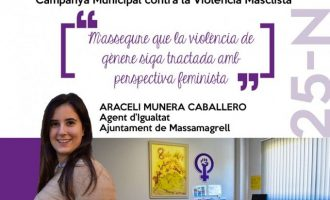 #SempreAlTeuCostat, la campanya de Massamagrell pel 25N