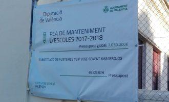 Comencen les obres en les escoles públiques de Benimàmet i Massarrojos