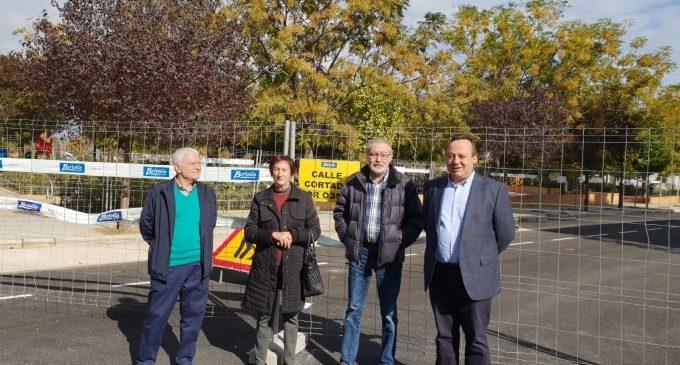 Adéu al tap urbanístic del carrer Riu Bidasoa de Torrefiel