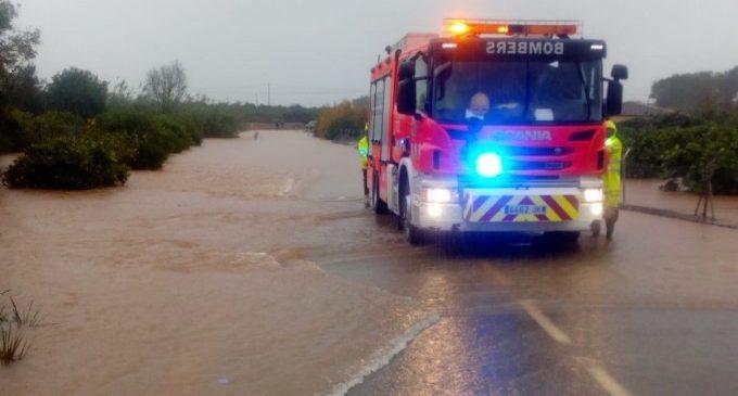 Emergències decreta la situació 0 a la Vall d'Albaida davant la imminència d'inundacions