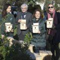 15 caixes niu al Jardí del Riu Túria per a conservar la biodiversitat