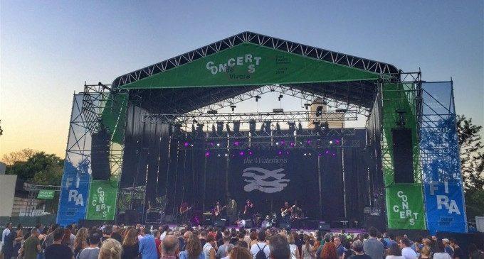 La Casa Azul i Xoel López tanquen els Concerts de Vivers 2019