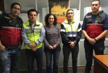 València intercanvia experiència i formació amb policies i bombers de l'Equador
