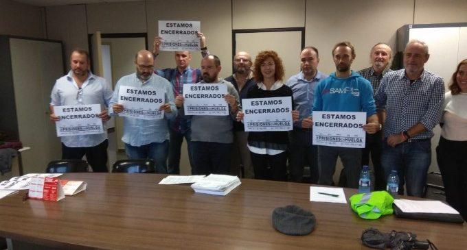 """Funcionaris de presons es tanquen en Subdelegació de Govern de València per a protestar per la """"falta de diàleg"""""""